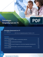 Apostila de Estratégia Empresarial Em TI - Universidade UNOPAR