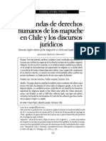 2016_Demanda de DDHH Mapuche y Discursos Jurídicos