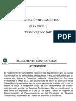 Reglamento Contratistas 1,5HORA