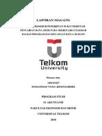 Analisis Prosedur Surat Perintah Pencairan Dana (SP2D) pada Setda bag. Program dan Keuangan Kota Cilegon