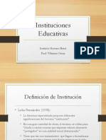 Instituciones Educativas Clase 2
