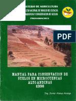 Manejo de Cuencas Hidrograficas y Conservacion de Suelos