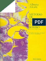 Alberto Alcala - Metodo de Tambor Tomtomes y Bombo