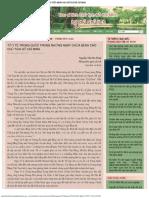 Thông Tin Tư Liệu - Thương Nhớ Chủ Tịch Hồ Chí Minh