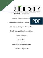 Tarea 4- Mateo Merino V legislacion aduanera