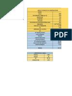 Excel de Tuneleria