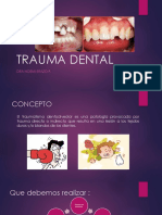 Trauma Dental