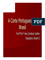 Aula 2 a Corte Portuguesa No Brasil