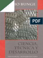 Ciencia, Técnica y Desarrollo - Mario Bunge.pdf