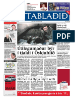 Fréttablaðið the Icelandic newspaper with the largest circulation 16/12/2005