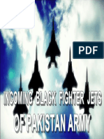 Imam Mahdi Black Flags Army is actually Black Fighter Jets of Pakistan Armed Forces (PAF)
