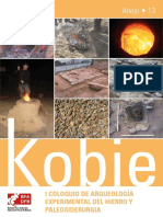 i Coloquio de Arqueologia Experimental