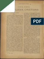 Renan Ernesto - La Iglesia Cristiana.