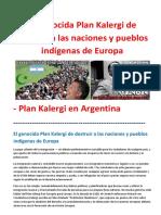 El Genocida Plan Kalergi de Destruir a Las Naciones y Pueblos Indígenas de Europa