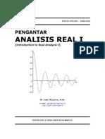 Pengantar Analisis Real I