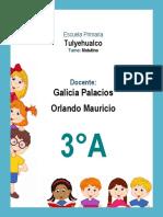 3er Grado - Agenda Escolar 2018-2019 (Primaria)
