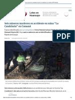 Seis Mineros Murieron en Accidente en Mina _La Candelaria_ en Camaná _ RPP Noticias