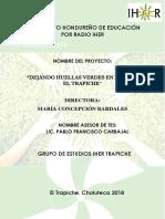 Proyecto Dejando Huellas Verdes