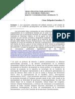 Delgado Guembes, César - Aspectos Básicos y Consideraciones Generales Sobre La Doctrina Del Debido Proceso en Los Procesos Parlamentarios (Número 2)