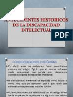 Antecedentes Historicos de La Discapacidad Intelectual-1
