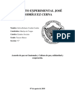 Acuerdo de paz en Guatemala