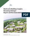 SUNY New Paltz Report on Renaming Buildings