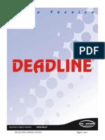 Ficha Tecnica Deadline