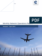 Nm Monthly Network Operations Report Analysis April 2018