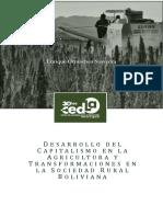 Desarrollo Del Capitalismo en Agricultura Transformaciones en Sociedad Rural Boliviana 0
