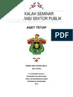 aset tetap sektor publik