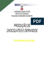 Aula Chocolate Derivados