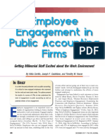 Employee Engagement in Public Accounting Firms