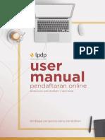 User Manual Pendaftaran - Beasiswa LPDP LAYOUT 13 Maret 2017 up 16 maret.pdf