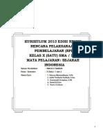 rpp sejarah INDONESIA KD  3.3 KD 3.docx