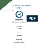 Tarea III Geografia General