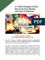 World War 3 After Erdogan's Death, Muslims Unite in Pakistan