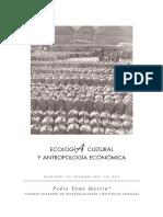 Tome Pedro - ecologia cultural y antropologia economica.pdf