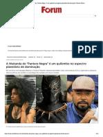 """A Wakanda do """"Pantera Negra"""" é um quilombo no espectro planetário de dominação _ Revista Fórum"""