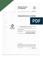 Norma NTC 5375 Version 2012