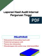 Laporan Hasil Audit Internal Perguruan Tinggi