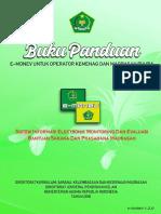 Buku Panduan E-Monev Madrasah Swasta