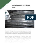 Tipos de Aislamientos de Cables Eléctricos