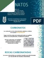 CARBONATOS PRESENTACION