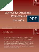 Sociedades Anonimas Promotoras de Inversion