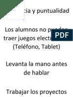 Reglemento Alejandro