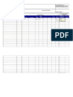 Plant Register Template