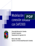 Modeling of a Welded Connection with SAP2000.pdf