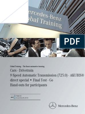 Tránmission 9G-TRONIC EN 725 pdf | Transmission (Mechanics