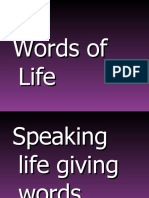 Life Giving Words ODCF Oct 3 2010 Web