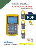 Spesifikasi PQ Analyzer